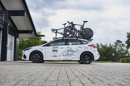 Ford Focus RS Team Sky. Foto: Ford