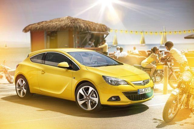 Opel GTC. Foto: Opel