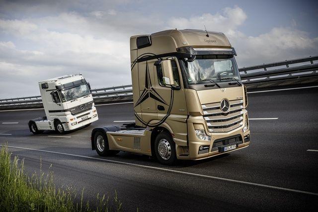 Mootorit OM 501 kasutas Mercedes-Benz Actros. Foto: Daimler