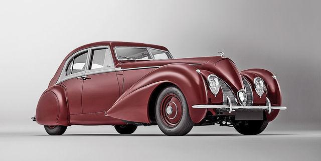 1939. aasta Bentley Corniche hävis originaalina Teises maailmasõjas, kuid sündis nüüd taas täpse koopiana. Foto: Bentley