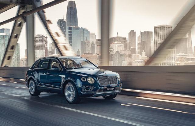 Bentley Bentayga Hybrid. Foto: Bentley