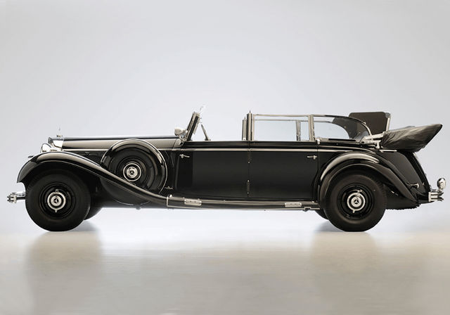 Mercedes-Benz 770K. Foto: Worldwide Auctioneers