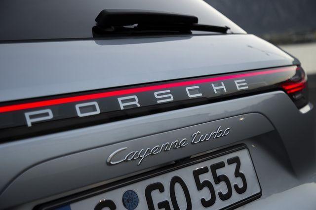 Porsche Cayenne Turbo. Foto: Porsche