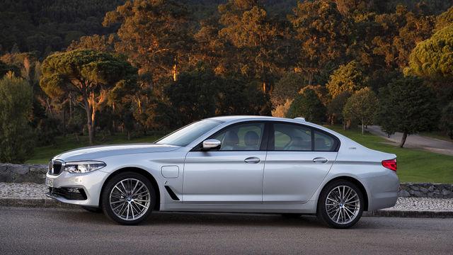 BMW 530e iPerformance. Foto: BMW