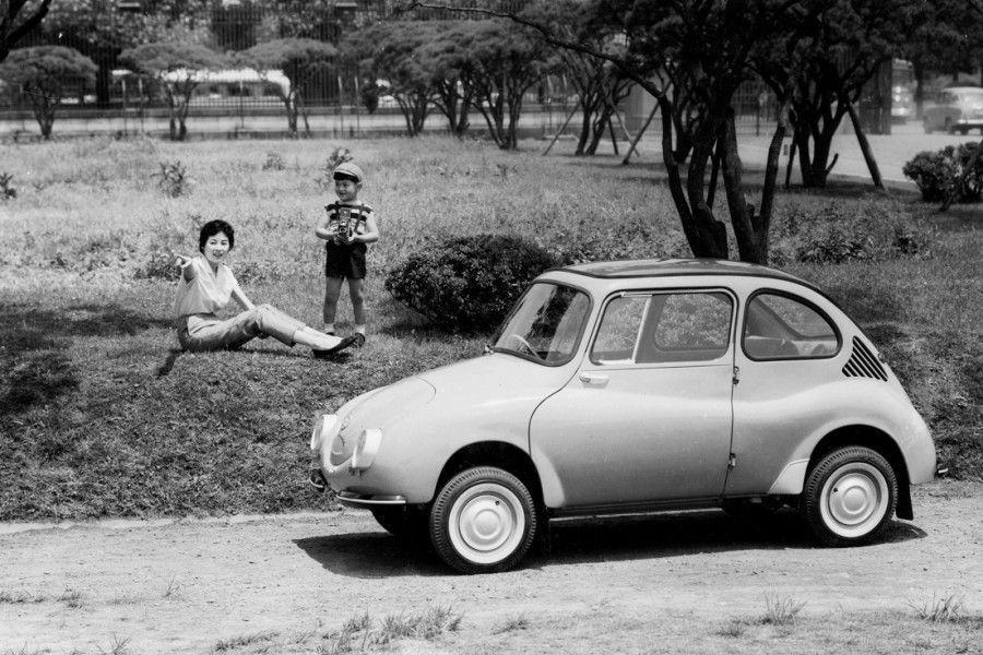 Jaapani automark Subaru ehitas esimese seadistusseeria auto 60 aastat tagasi – 1958. aasta 3. märtsil.