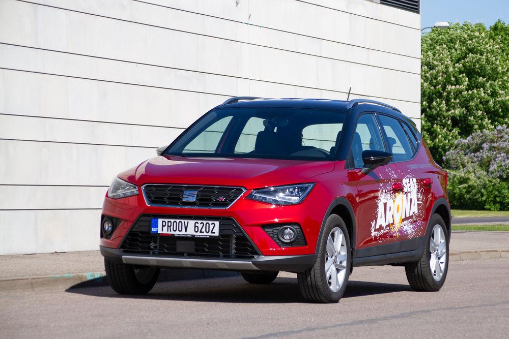 2115eb5b786 Motors24 proovisõit - Seat Arona - Pannonia - Uudised - motors24.ee