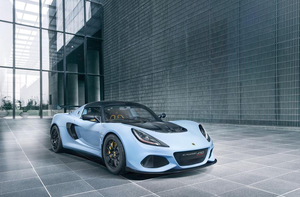 Lotuse tootevalikusse lisandub Exige Sport 410