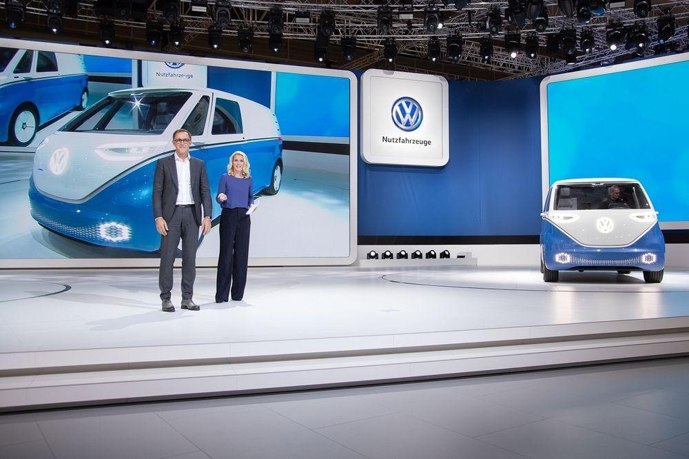 Uus elektriline kaubik kummardab Volkswagen T1 suunas