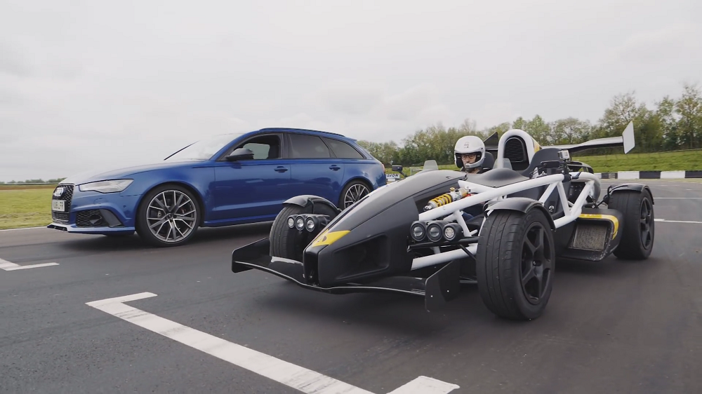 e5e35d2c279 VIDEO: Ariel Atom vs Audi RS6