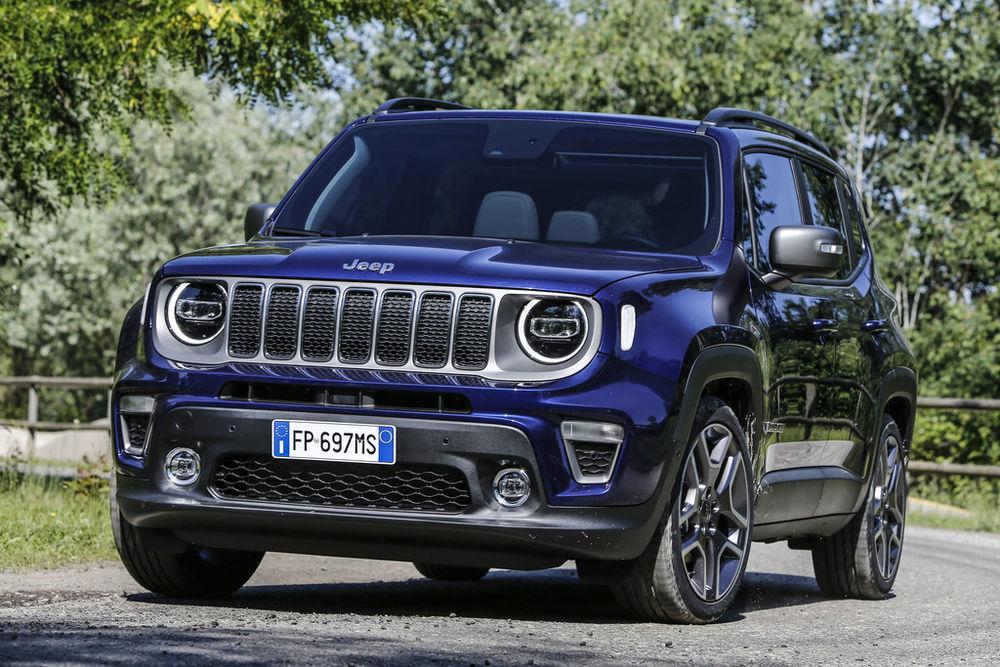 Jeep Renegade sai uue põlvkonna jõuallikad