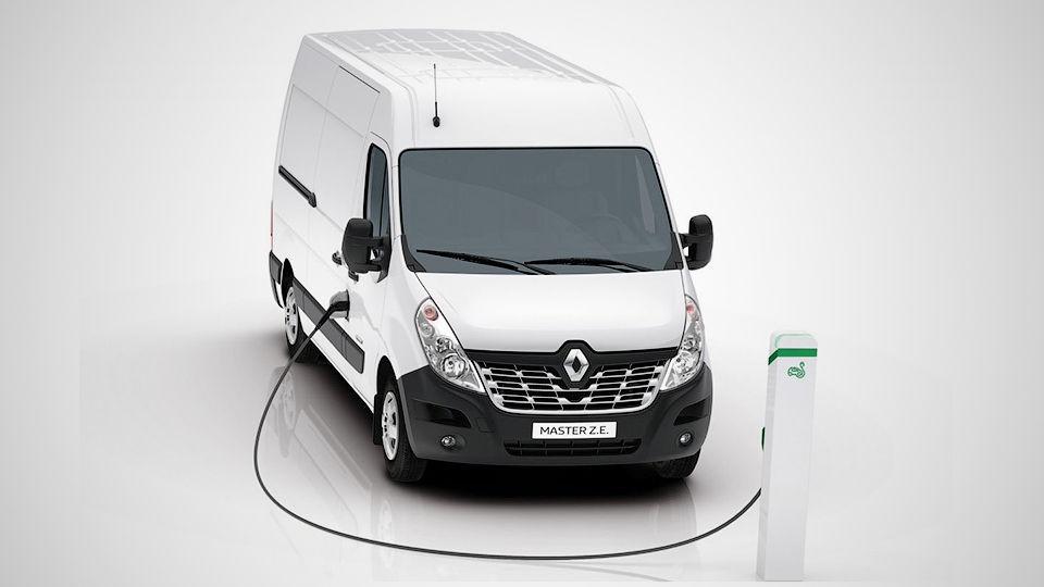 Renault tootevalikusse lisandub elektriline Master Z.E.