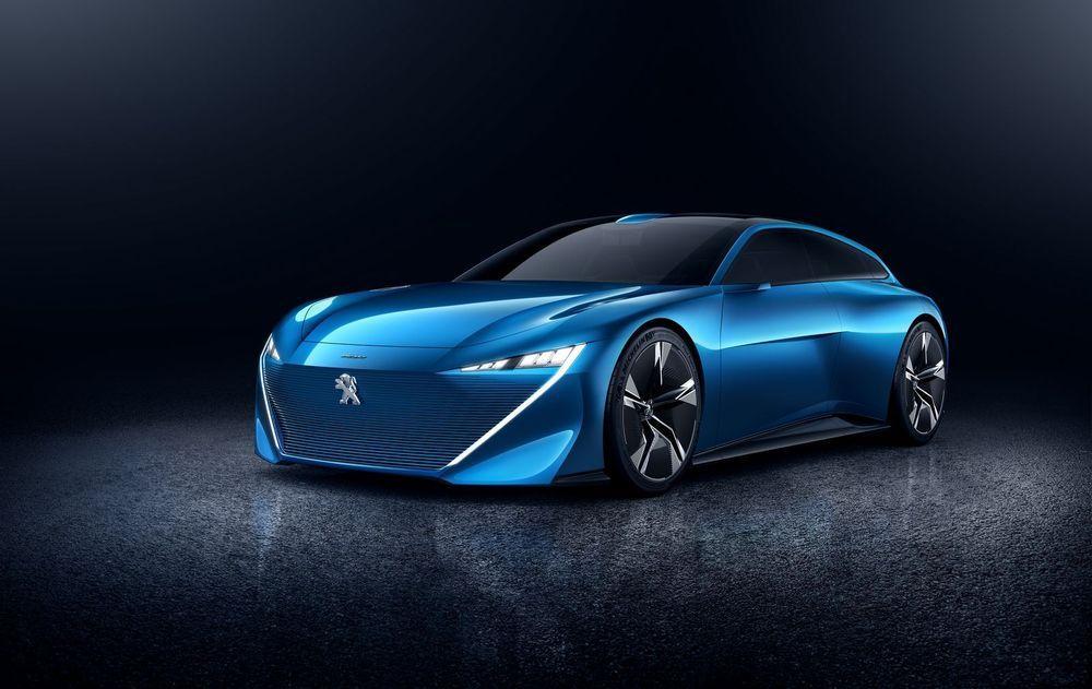GENF 2017: Peugeot näitab tarka ideeautot Instinct Concept