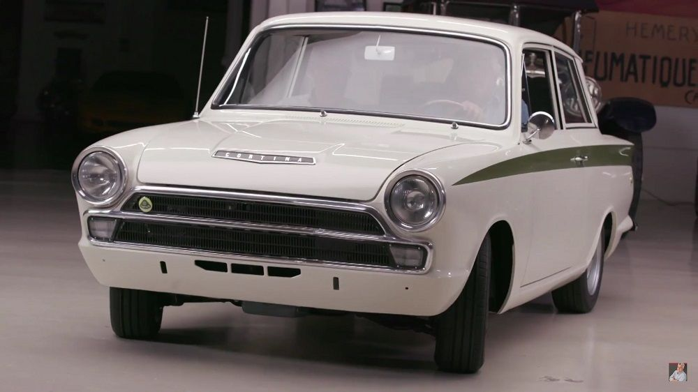Jay Leno's Garage: 1966 Lotus Cortina