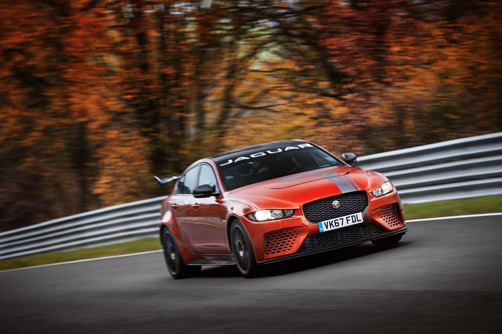 Jaguar XE SV Project 8 on kõige kiirem sedaan Nürburgringil