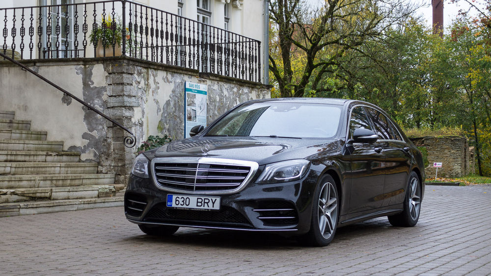 Motors24 proovisõit - Mercedes-Benz S 560 L