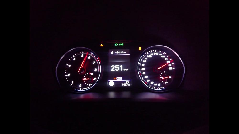 Hyundai i30 N suudab kihutada 250 km/h