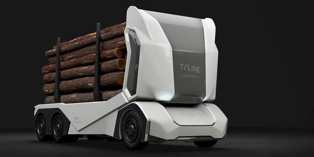 T-Log on autonoomne metsaveok