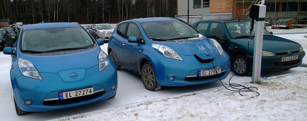 Norra pealinnas napib elektriautode laadimispunkte