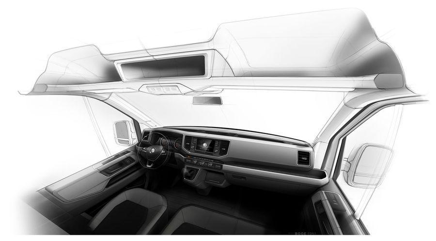Uus VW Crafter on mitmekülgne abimees