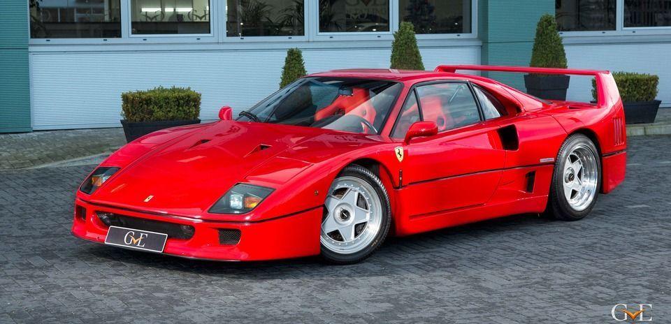 Londonis müüakse Eric Claptoni Ferrari F40