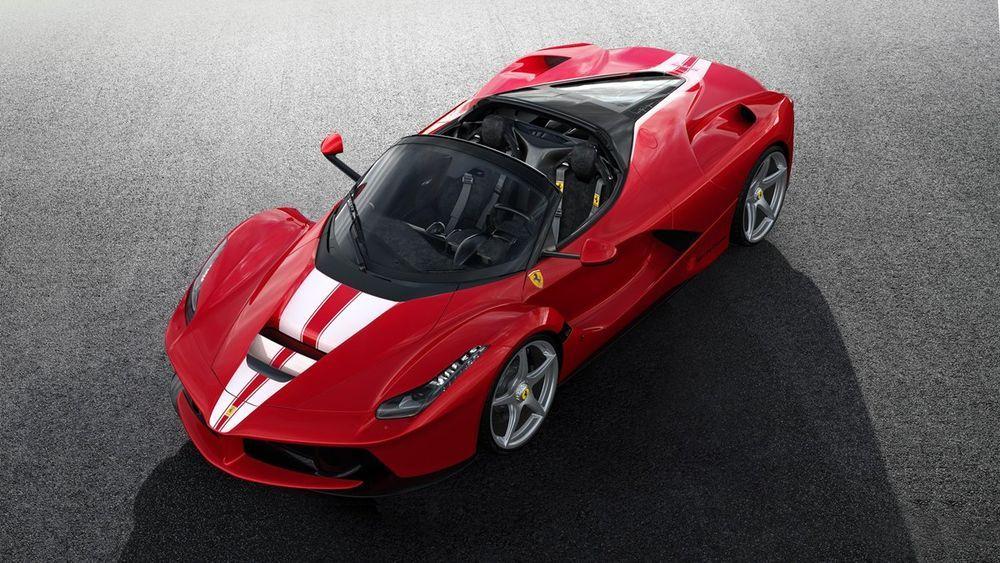 LaFerrari Apperta müüdi 8,3 miljoni euroga