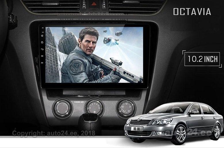 skoda octavia superb puutetundlik android navi gps multimeedia 2013